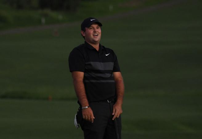 "WATCH: A fan yells ""cheater"" while Patrick Reed putts for nearly $2m"