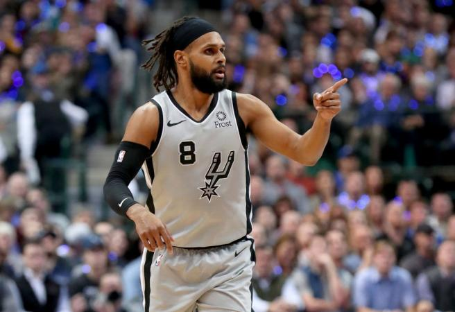 Patty Mills goes off despite Spurs losing