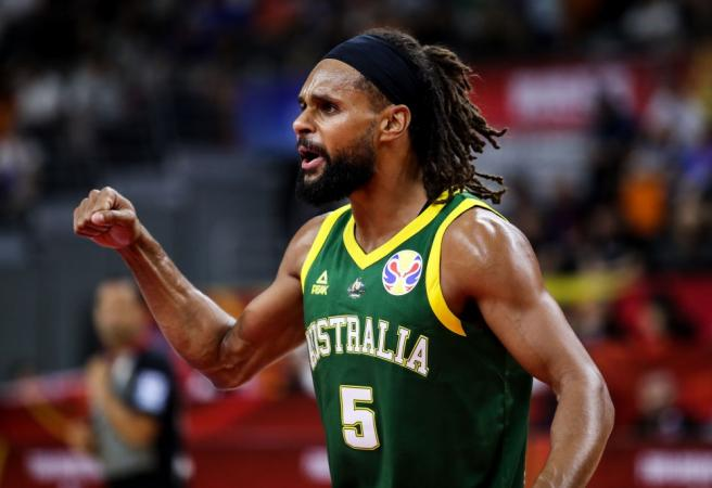 Boomers knock off Lithuania in thrilling contest