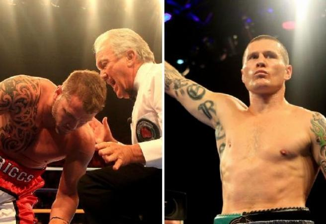 Paul Briggs: Danny Green fight 'complete insanity'