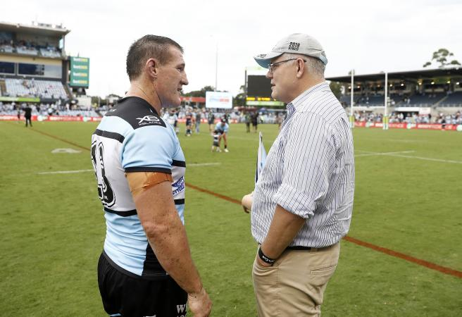 Gallen equals record, Sharks back on the board