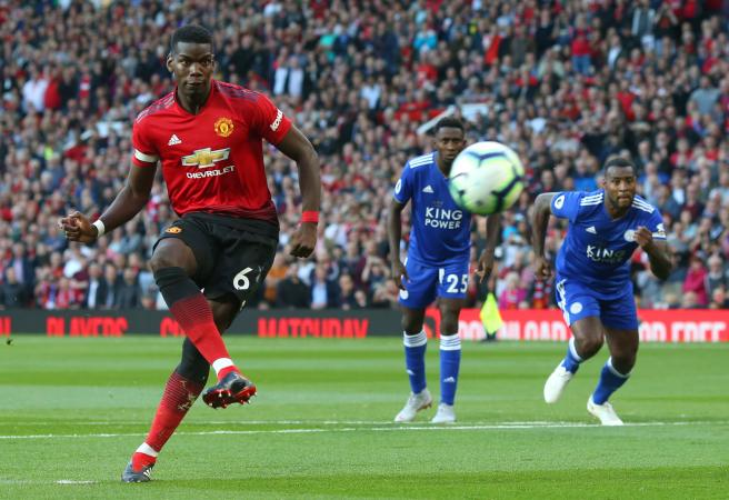 Mourinho United: Pogba leads the way as Man Utd beat Leicester