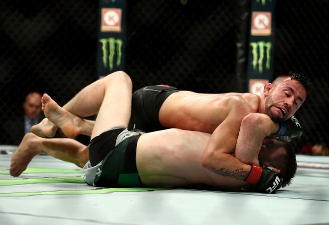 UFC 227: Dillashaw, Cejudo win big as Munhoz claims savage war