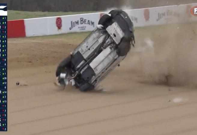 WATCH: Toyota 86 race tarnished by spectacular crash