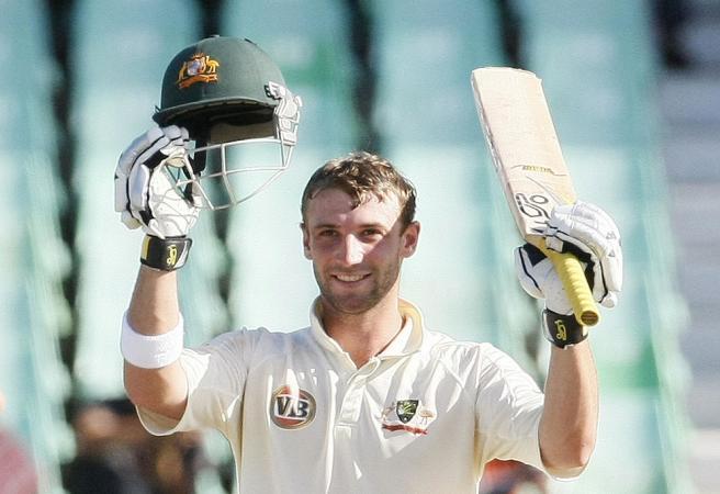 Phil Hughes' five best knocks for Australia
