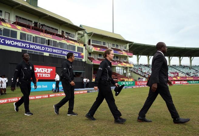 Aussie umpire makes history