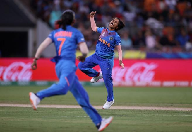 Poonam Yadav spins Aussies out in World Cup opener
