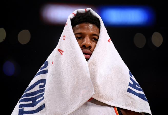 WATCH: Paul George booed relentlessly by Lakers crowd