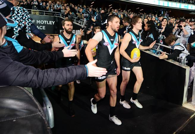 Port Adelaide deliver at last ... for one punter in 20k collect