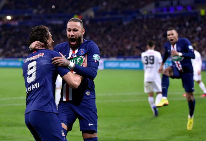 Paris St Germain crowned French Ligue 1 champions