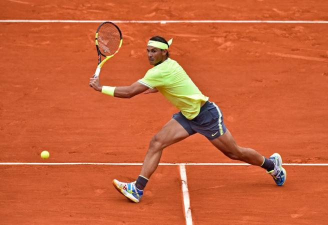 WATCH: Insane shot by the King of Clay