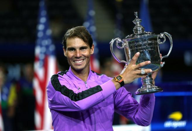 Rafael Nadal wins 19th Grand Slam title