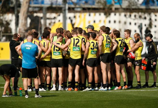 Richmond delist three players including Premiership winner
