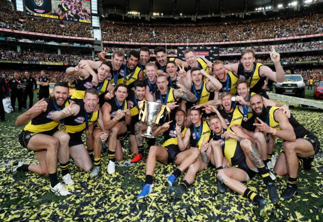 What are the biggest AFL Grand Final winning margins?