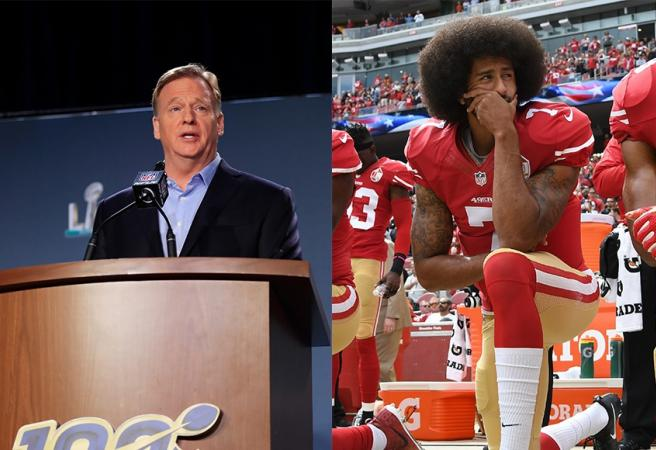 NFL commissioner blasted after response to death of George Floyd