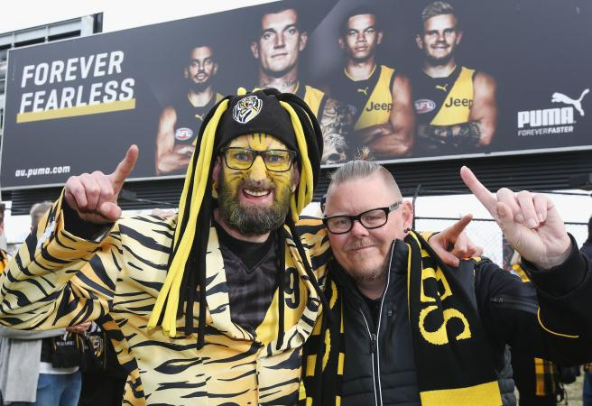 Six types of Richmond supporters