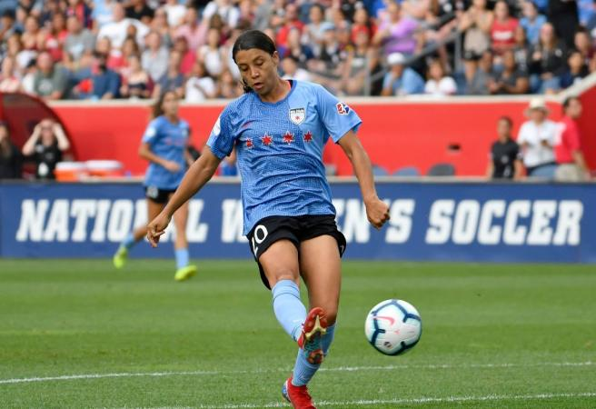 Sam Kerr adds another accolade to her remarkable career