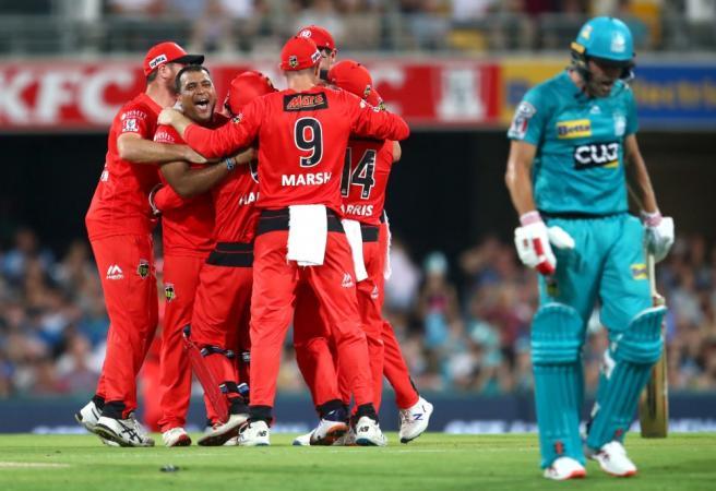 WATCH: Brisbane Heat's record batting collapse