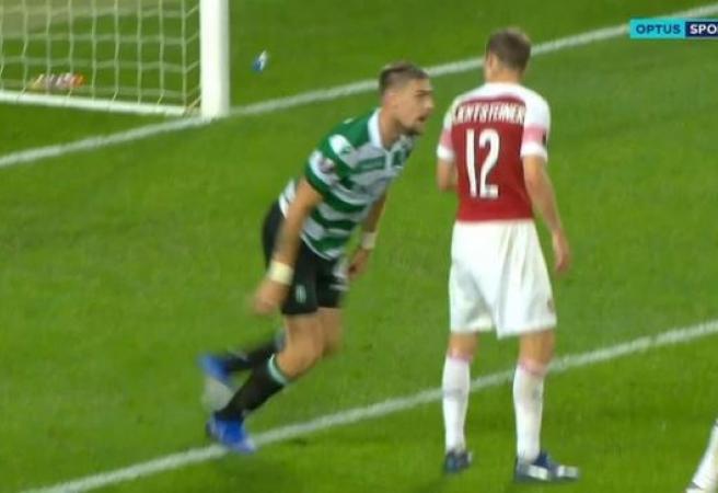 Europa League headbutt stuns Arsenal