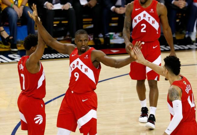Raptors move to within a win of the NBA title