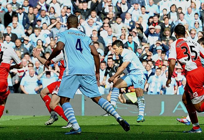 Sergio Aguero's most iconic goal