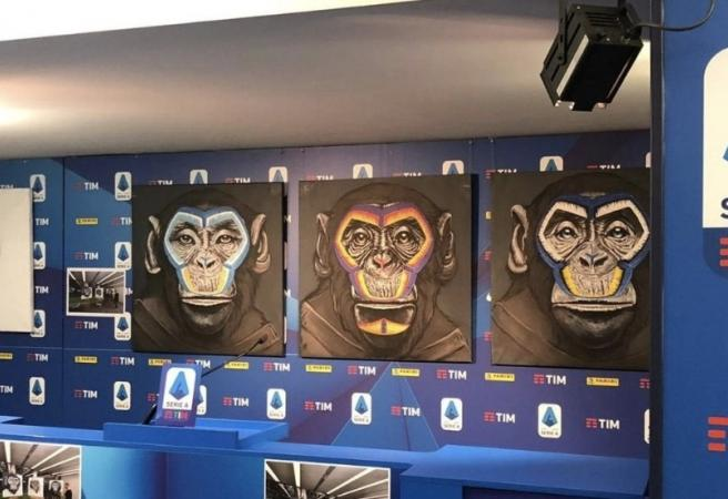 Monkey images used in Serie A anti-racism campaign