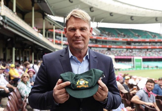 Shane Warne's Baggy Green fetches over $1 million for bushfire relief