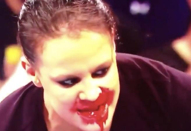 Bizarre WWE stunt shocks fans