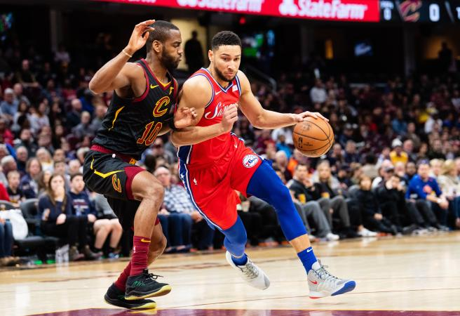 Ben Simmons dominates Cavs on his way to 15th career triple-double