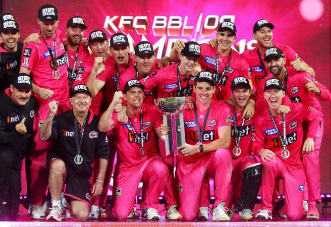 Sixers cruise to BBL championship in rain affected game
