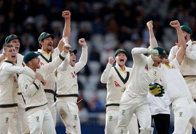 Complete list of Ashes series results