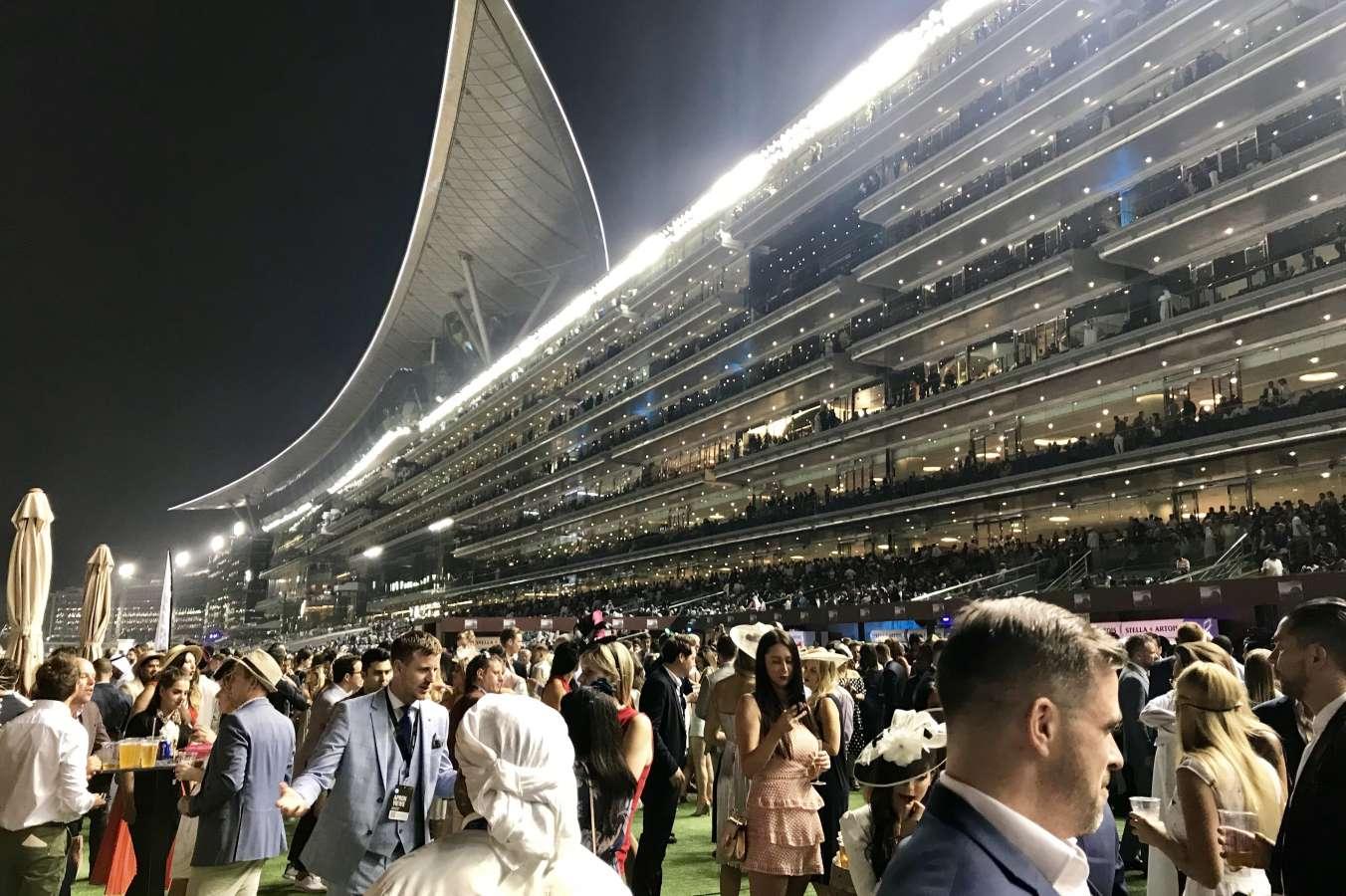 Dubai's 'Super Saturday' previews World Cup night races ... |World Cup Night