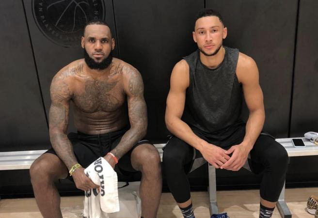 Ben Simmons and LeBron James show what could have been