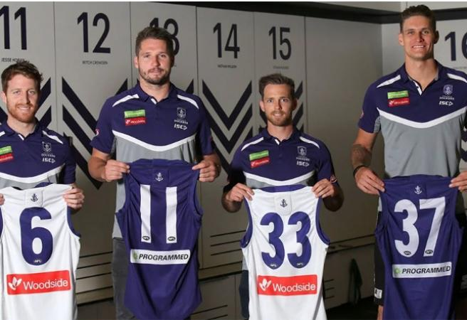Every AFL Recruit's Jumper Number