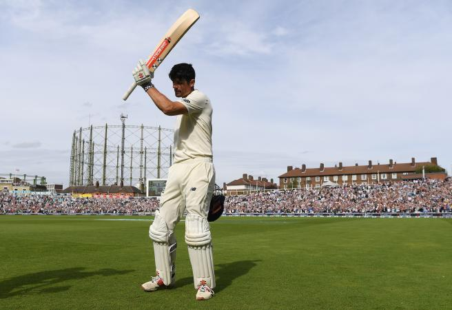 Cook delivers in final Test innings
