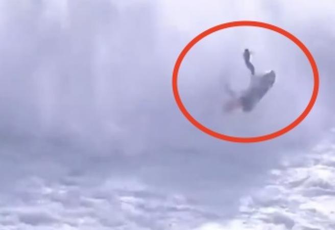 Big wave surfer rushed to hospital after horrifying incident