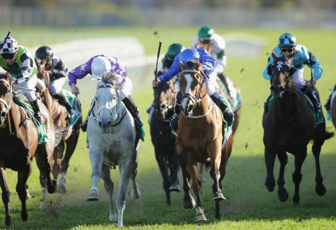 Hartnell wins the Group One Epsom Handicap