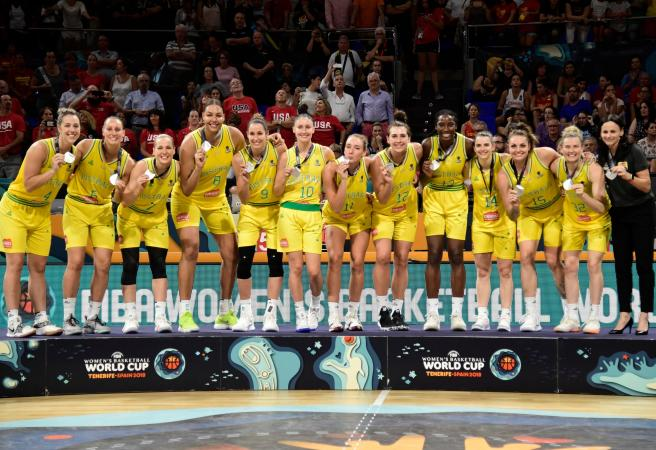 Opals take silver after Team USA masterclass