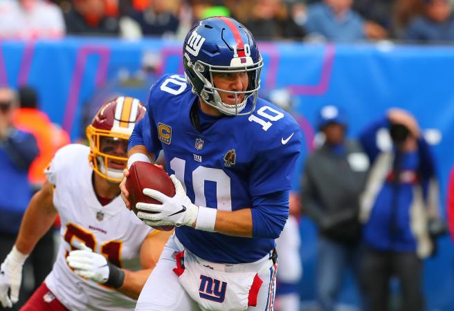 Manning not feeling the heat as Giants struggle