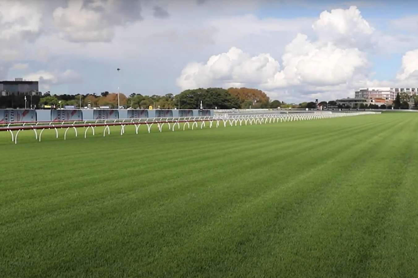 The straight at Randwick