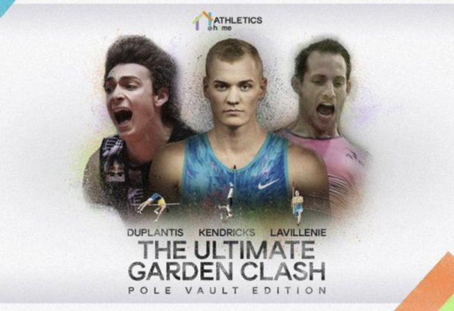 WATCH: Pole vault rivals meet in Ultimate Garden Clash