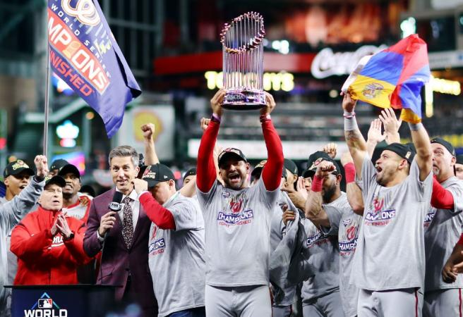 Washington Nationals make history to win the World Series