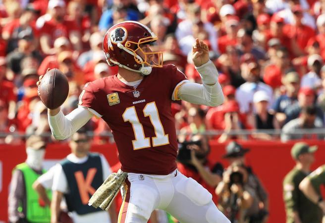 Redskins QB Alex Smith suffers sickening injury