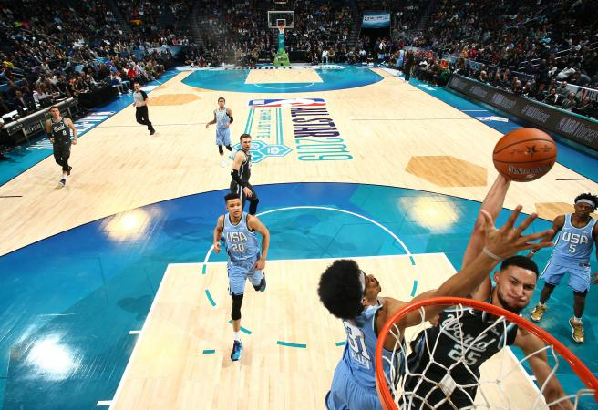Simmons shines in Rising Stars game