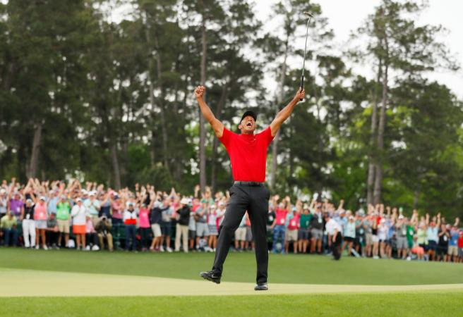 Tiger Woods claims incredible Masters victory