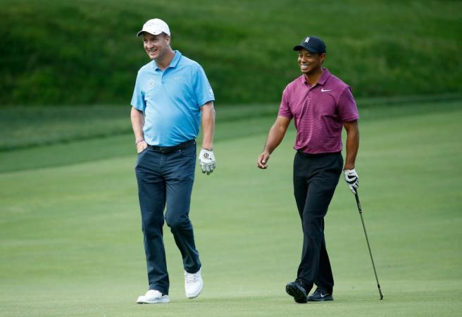 WATCH: Tiger Woods and Peyton Manning win 'The Match'