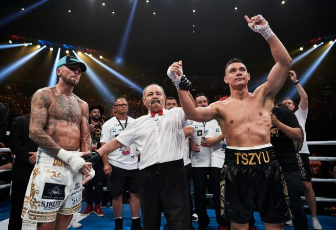 Tim Tszyu continues his charge towards a world title