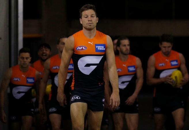 Toby Greene done for season but could cop more weeks