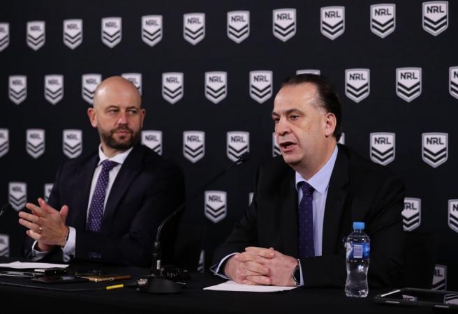 NRL season suspended