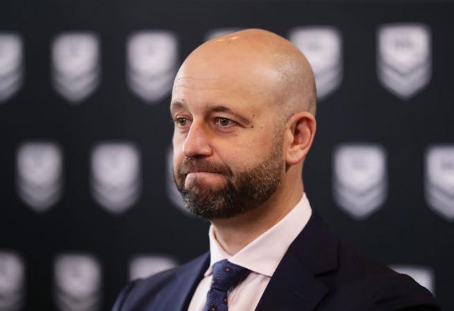 NRL Chief Executive Officer Todd Greenberg resigns